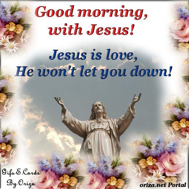 Good Morning Spiritual Images | Good Morning with Jesus! | oriza.net Portal - Art, Romance, Poetry ...