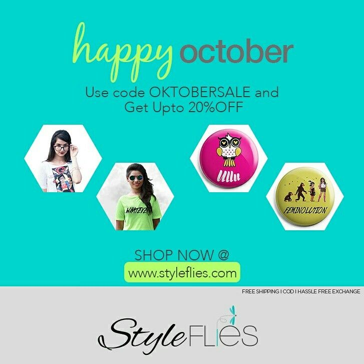 Make your october awesome with the most trendy products of the season!!