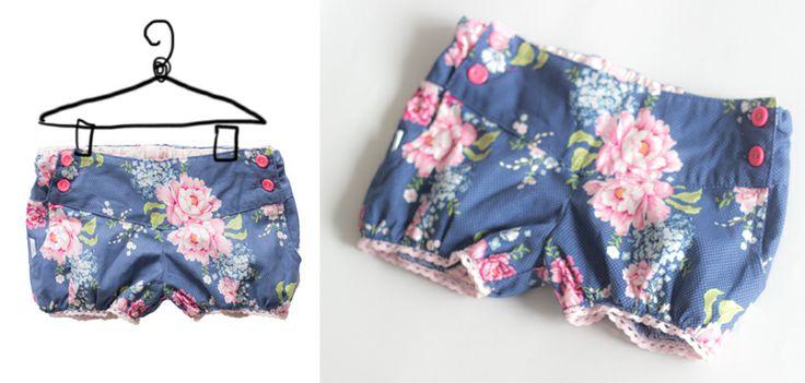 girly shorts | calções de menina com bolinhas  http://on.fb.me/1nH882W