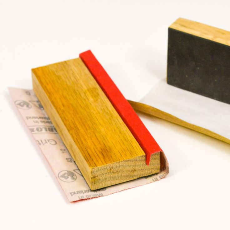 The perfect sanding block. #woodworking