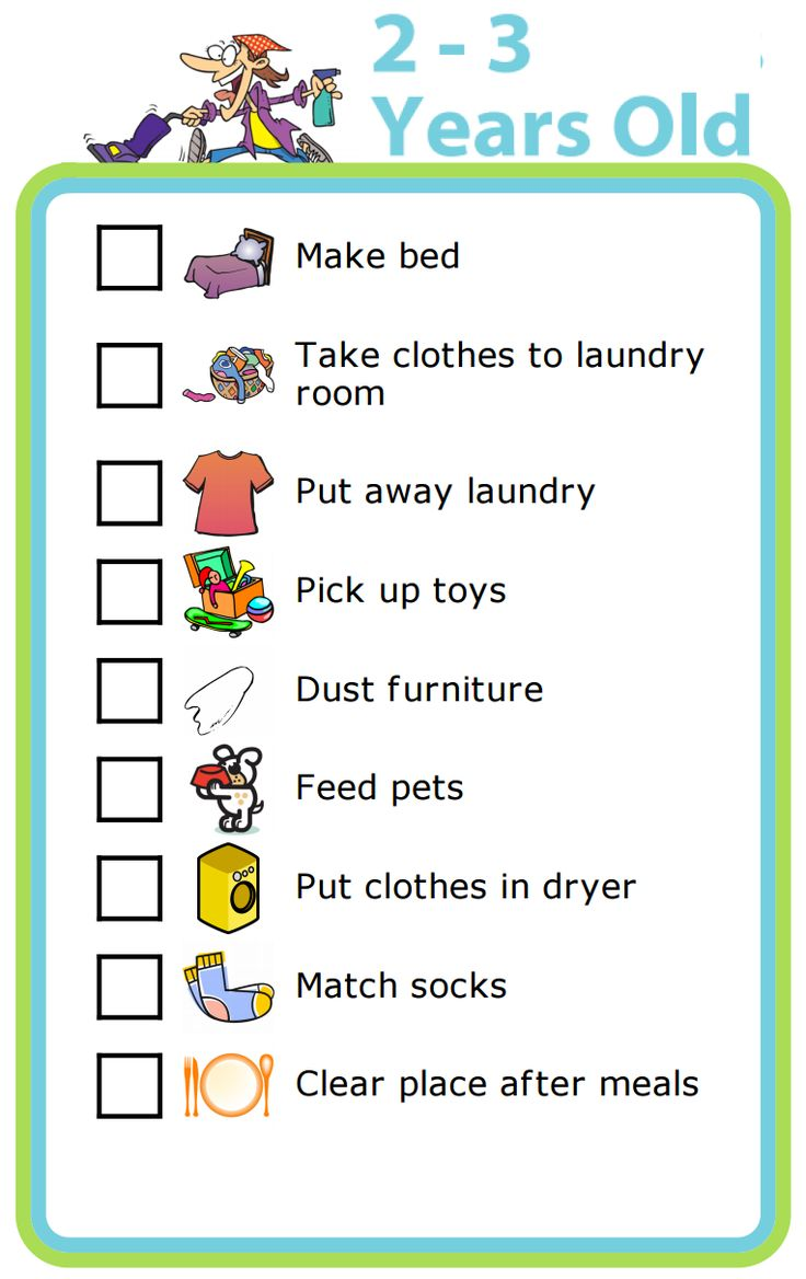 This is an image of Satisfactory Printable Chore Chart for 5 Year Old