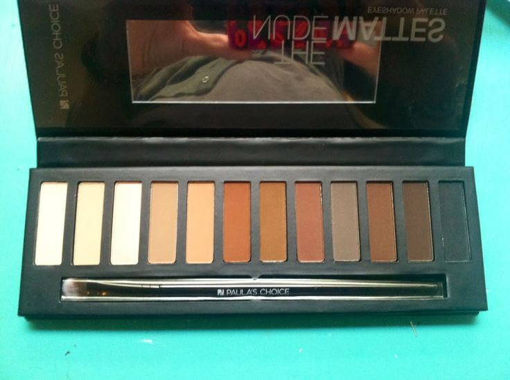 The Nude Matte palette by Paula's Choice