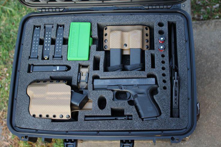 Completely Customizable Gun Cases from MyCaseBuilder.com—