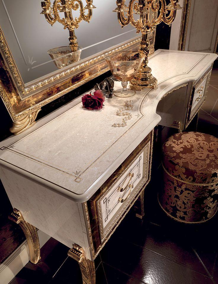 Raffaello Collection Bedroom, Dressing Table www.arredoclassic.com/bedroom/dressing-table-raffaello