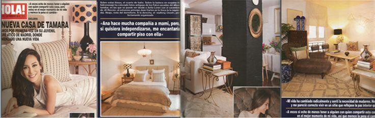 Tamara Preysler, Detana Lamparas, Revista Hola, España