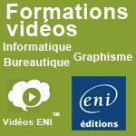 Editions ENI : Se former par la vidéo