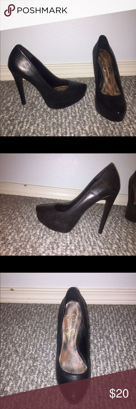 Jessica Simpson pumps 6.5 Great condition black Jessica Simpson pumps. Size 6.5 Jessica Simpson Shoes Heels