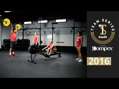 CrossFit Team Series 2016: Event 3 Demo - YouTube