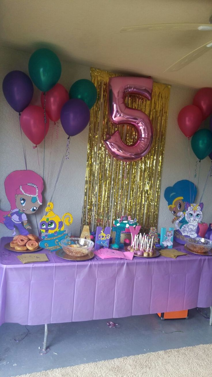 Shimmer and Shine Birthday Party!!
