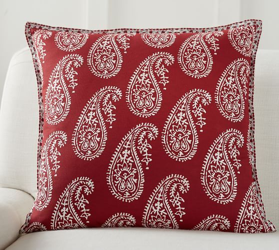 Asbury Printed Reversible Pillow Cover