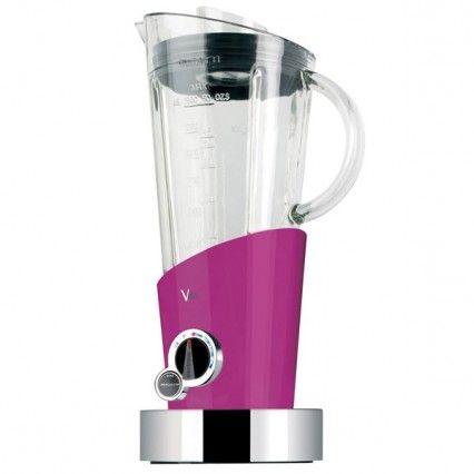 Bugatti Vela Food Blender - pink modern food processor
