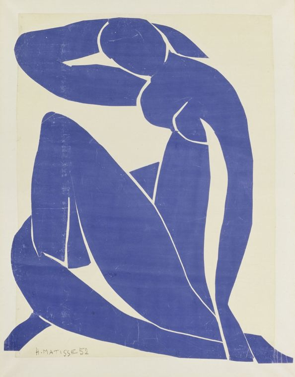 Henri Matisse - Blue Nude II - 1952