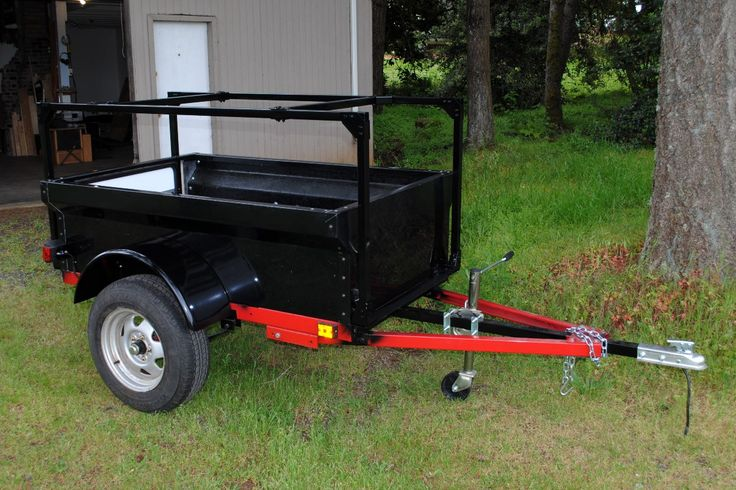 Lawn Tractor Cargo Rack : Best ideas about lawn mower trailer on pinterest