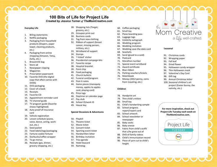 100 projects for a mom kids Pinterest - project progress report