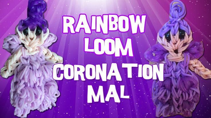 Rainbow Loom Disney Descendants Mal Tutorial