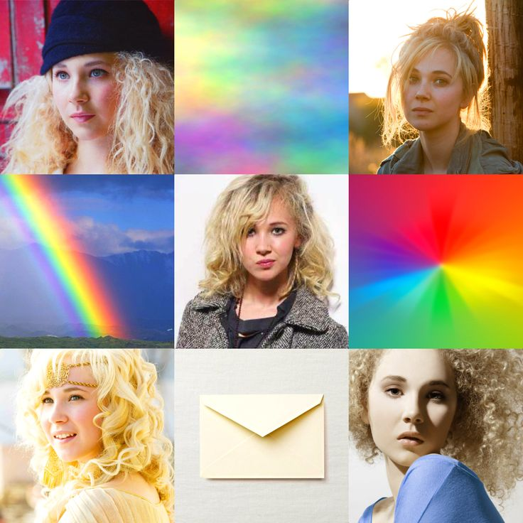 Juno Temple as Iris, goddess of the rainbow. Messenger of the gods, along with Hermes.