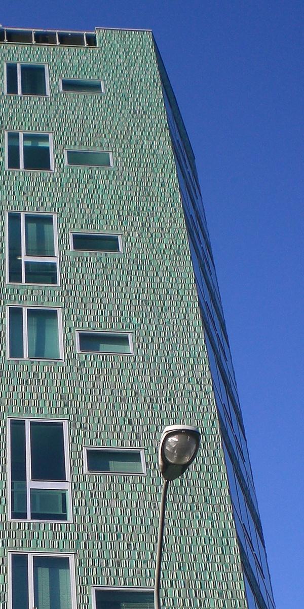 Montedoria Building by Giò ponti