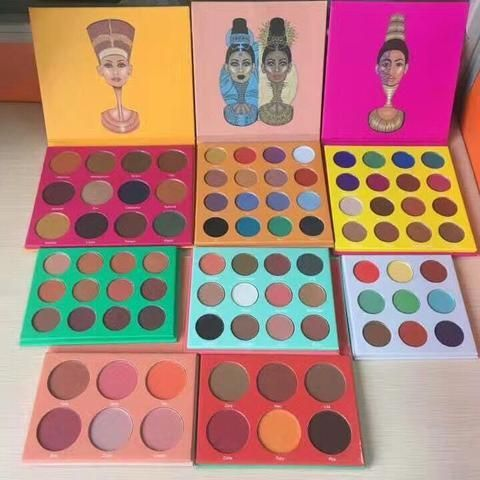 JUVIA'S PLACE EYESHADOW Masquerade Palette/Nubian 2 Eye shadow Palette/Nubian Eyeshadow Palette