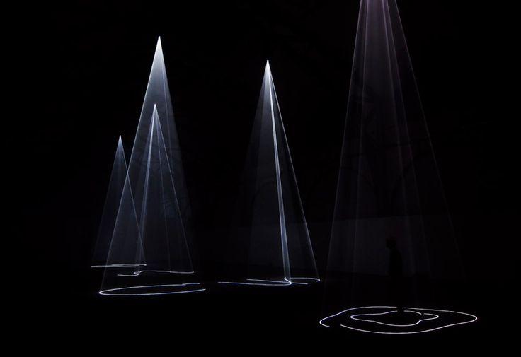 Anthony McCall: cinq minutes de la sculpture pure au niveau Hamburger Bahnhof MAI 2012