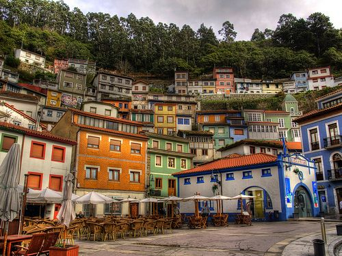 Cudillero, ASTURIAS. Asturias, officially the Principality of Asturias, is an autonomous community in north-west Spain. It is known for its rugged coast, mountains, religious sites and medieval architecture. I can't wait to go!!