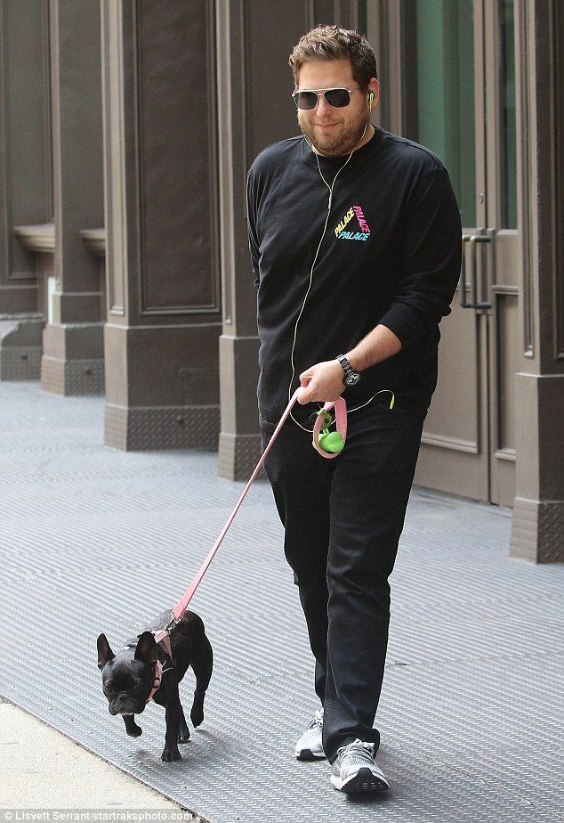 Carmela with Jonah Hill in NYC | Daily Mail Online