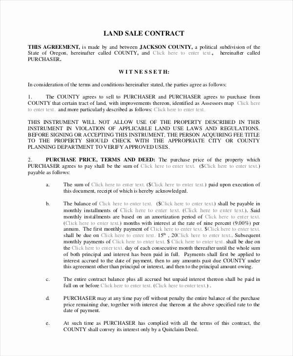 Simple Land Purchase Agreement Form New 8 Land Contract Samples Templates In Pdf Word Contract Template Job Application Template Templates