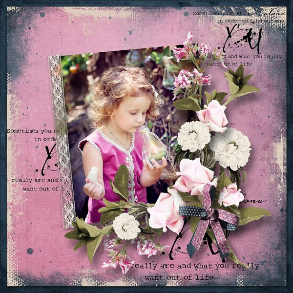 """My secret place"" (Mini kit) by Mediteranka Design"