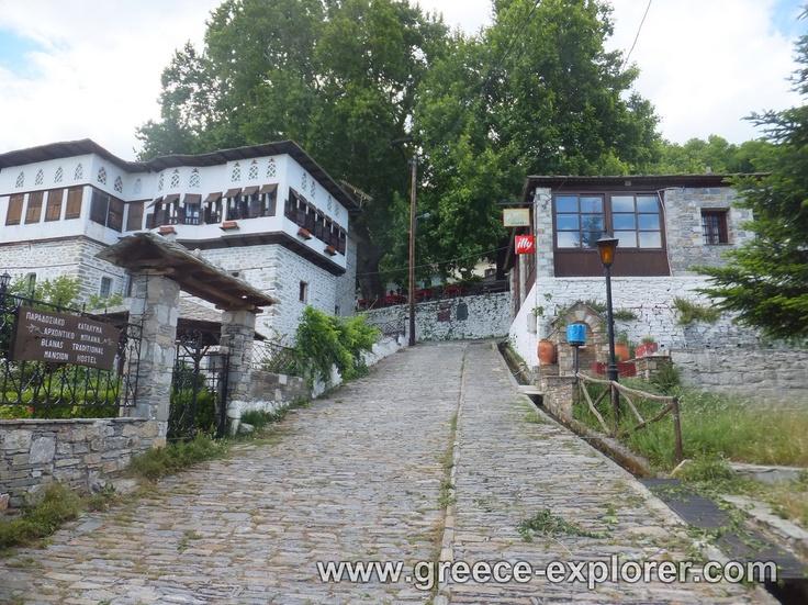 Village Vizitsa in Mount Pelion