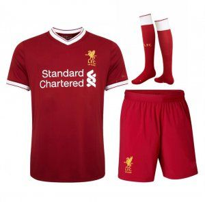 2017 Cheap Kit Liverpool FC Home Replica Full Suit [AFC353]