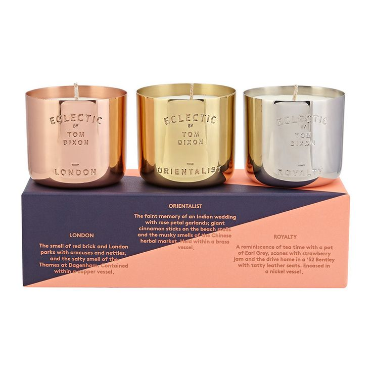 Tom Dixon - Scented Candle Gift Set