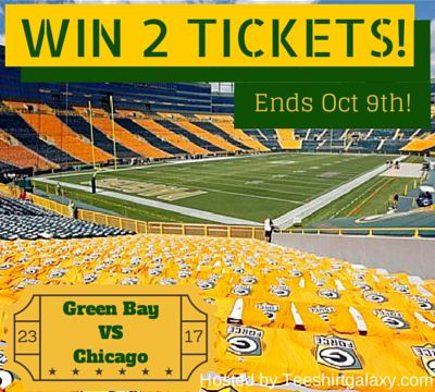WIN+2+Tickets+to+Chicago+Bears+vs+Green+Bay+Packers+Game