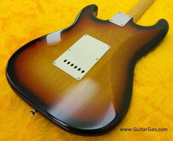 Fender Japan Stratocaster St62 3ts back body