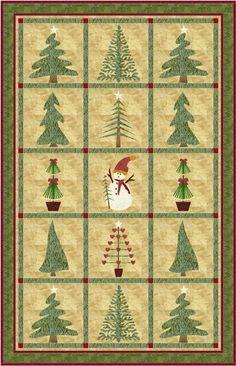 A beautiful #winter #quilt!