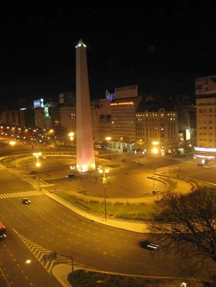 El Obelisco, Buenos Aires.