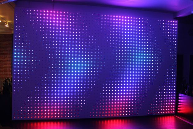 interactive led wall - ipad controlled - not arduino or raspberry pi - the keyword is Pixel Pusher (Scheduled via TrafficWonker.com)
