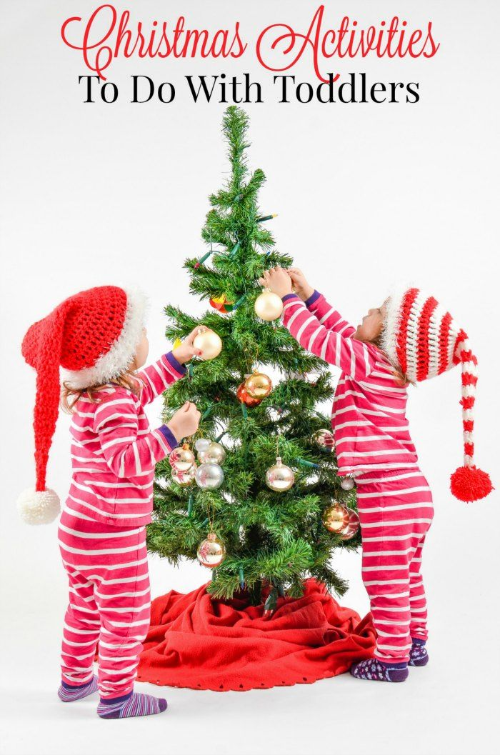 Christmas Activities to do with Toddlers  GREAT IDEA!!!