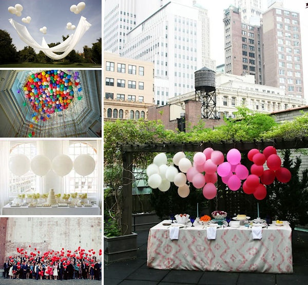Wedding Balloon Inspiration