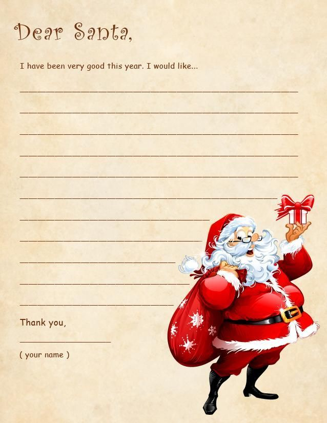 Best 25+ Santa template ideas on Pinterest Letter to santa - christmas list to santa template