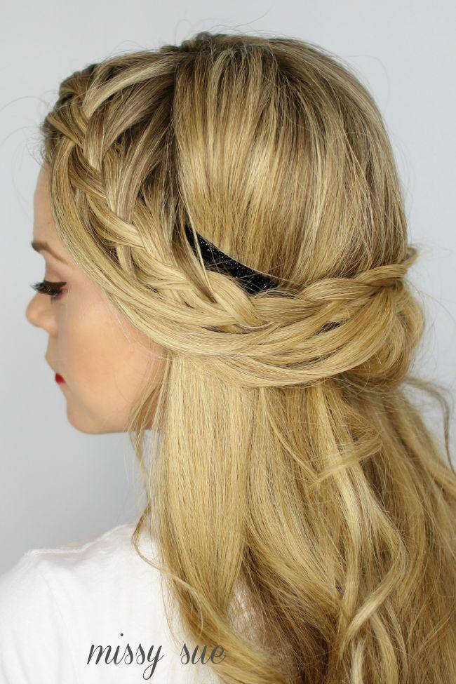 hair Archives - Missy Sue #braided #sidebraid #headband
