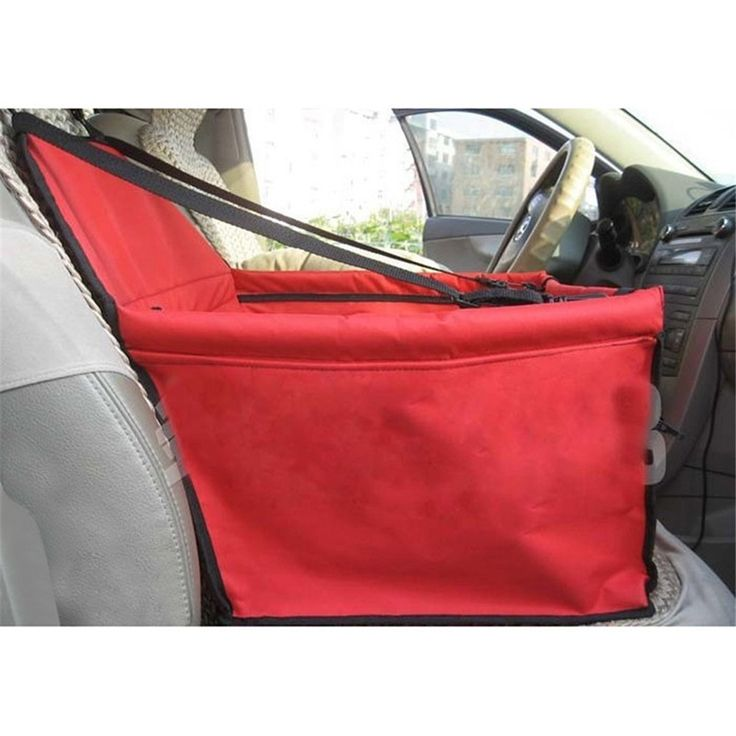 Hammock Design Car Single Front Seat Safety Travel Dog Carrier Bags Waterproof Dog Car Seat