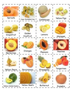 Preschool Is Fun Planning Activities: Fruits/Vegetables