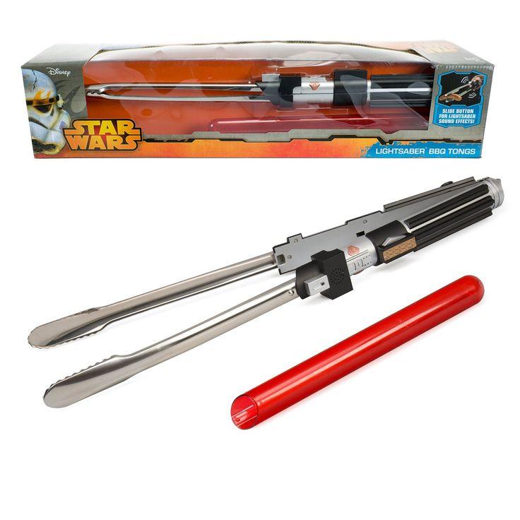 Star Wars Darth Vader Imperator Lichtschwert Grillzange mit Sound das Männer Geschenk 57cm lang: Amazon.de: Spielzeug
