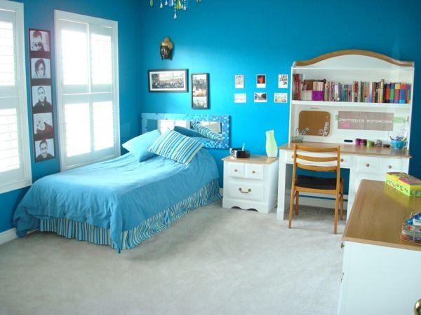 farbideen wohnzimmer teenagerzimmer - Wohnzimmer Shabby Chic Modern