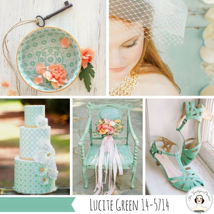 Lucite Green Wedding Inspiration Top 10 Wedding Colours for Spring 2015 from Pantone – Part II