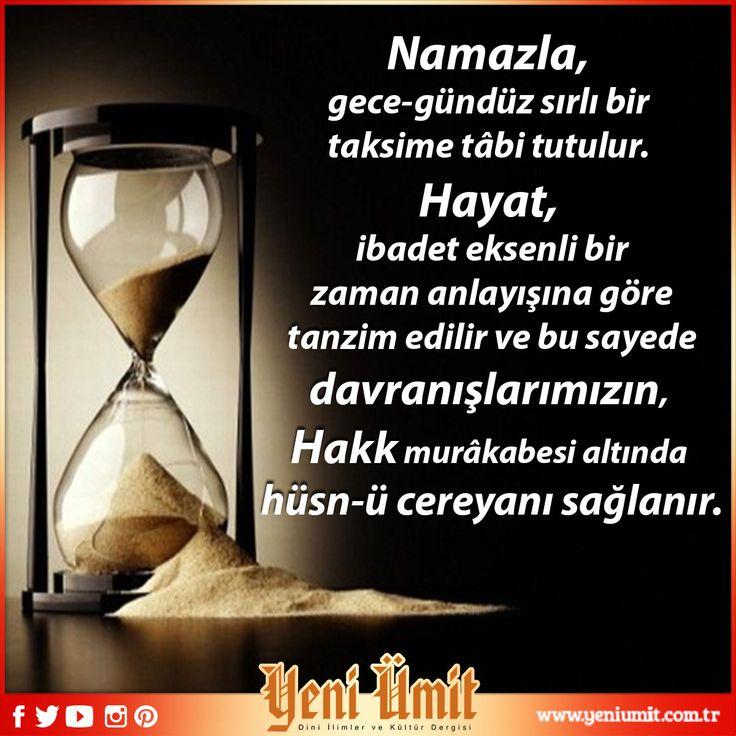 Doç. Dr. Kadir PAKSOY' un 'Namazların Vaktinde Eda Edilmesi' : http://www.yeniumit.com.tr/konular/detay/namazlarin-vaktinde-eda-edilmesi-109 #yeniümitdergi #yeniümit #dergi #namaz #namazvakitleri #namazlarınvaktindeedaedilmesi #namaz #vakti #edaedilmesi #gecegündüz #hayat #zaman #zamanakışı #tanzzim #davranış #hüsnücereyan #yeniyazı #yenisayı