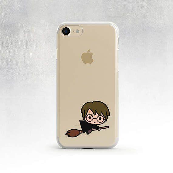 Téléphone clair affaire Harry Potter Case Iphone 6 Plus claire