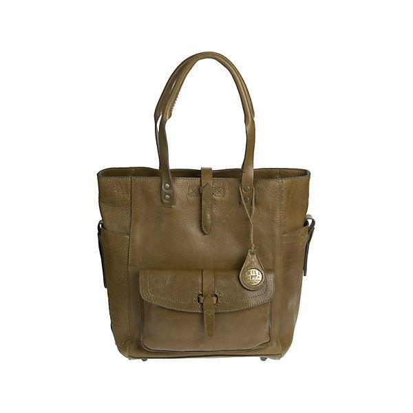 Will Ashland Leather Tote Bag featuring polyvore, women's fashion, bags, handbags, tote bags, brown leather tote, handbags totes, leather tote bags, leather tote handbags and brown leather purse