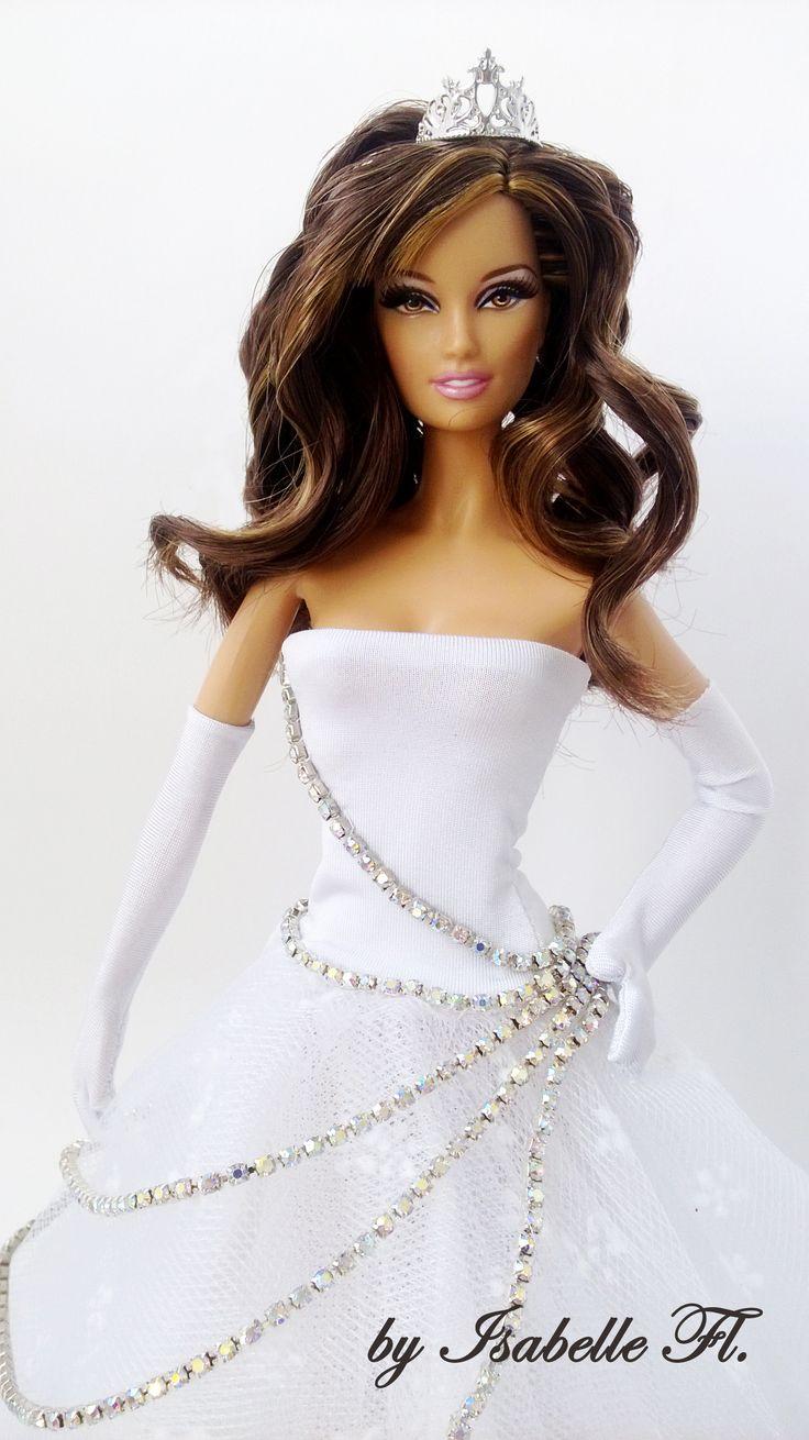 14 Laras Wedding Dress By Isabelle Fl Bride DollsBarbie