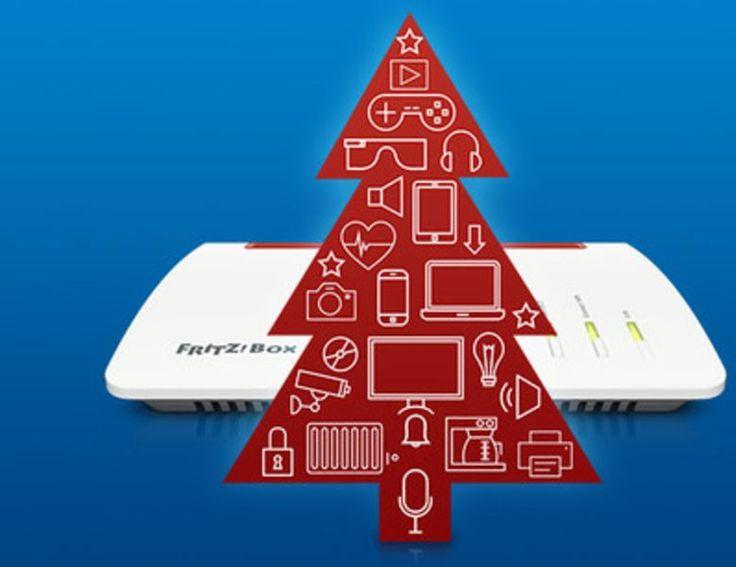 Steht auf eurer Wunschliste ein neues Smartphone, eine Xbox One X oder neue WLAN-Lautsprecher? Über was auch immer ihr euch in diesem Jahr freut, die FRITZ!Box samt den FRITZ!WLAN-Kollegen vernetzen eure Wunsch-Geräte über alle Etagen!
