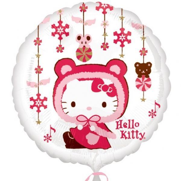 Hello Kitty fóliový balónek 45cm | BALONKY .CZ